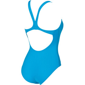 arena Solid Swim Pro One Piece Swimsuit Women turquoise-white